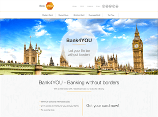 Bank4YOU website screenshot