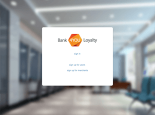Bank4YOU Loyalty website screenshot